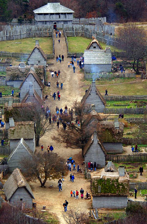 Plimoth Plantation  Recreation of 1627 Village