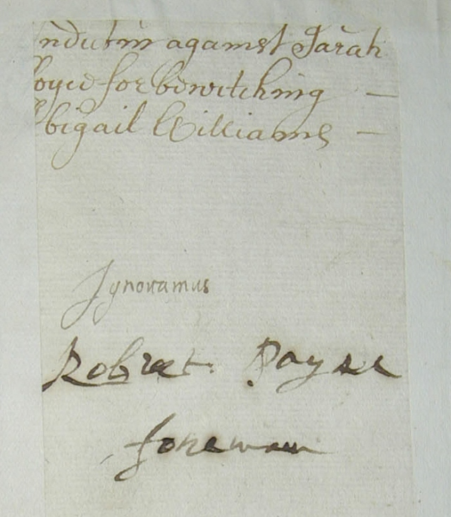 Robert Payne Signature to