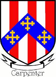 Immigrant Ancestor - Carpenter Coat of Arms