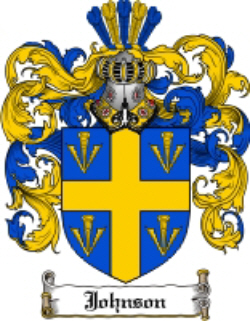 Immigrant Ancestor - Johnson Coat of Arms