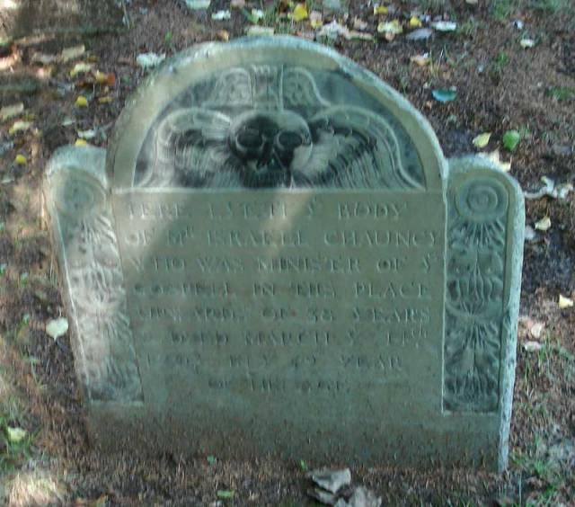 Rev. Israell Chauncy Gravestone