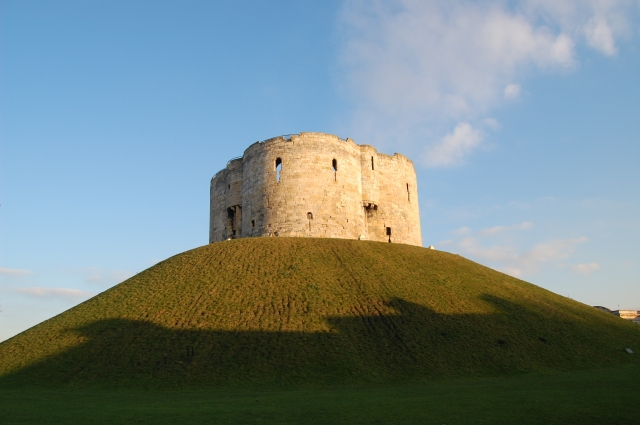 Simon Digby was imprisoned in York Castle Clifford's Tower before he was executed