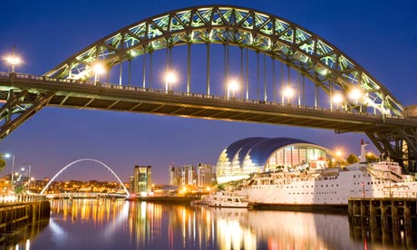 Tyne bridge, Newcastle-Gateshead Today