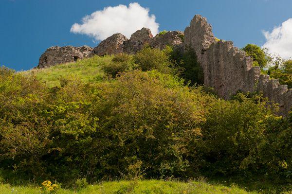 Ruins of Berwick Castle Today
