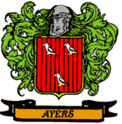 Immigrant Ancestor - Ayers Coat of Arms