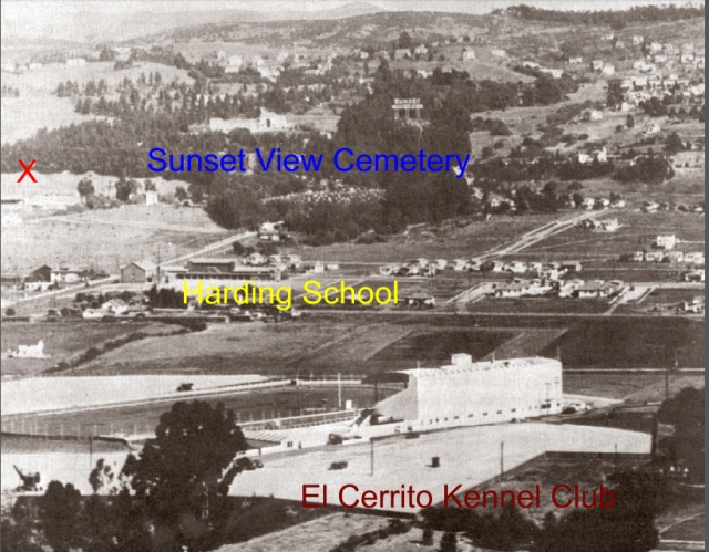 El Cerrito Neighborhood 1932