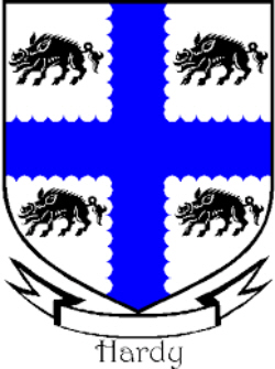 Immigrant Ancestor - Hardy Coat of Arms