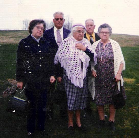 Gilbert Siblings: Perry, Ivan, Claire, Doris, Alice