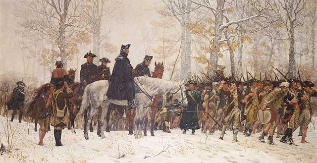 Winter 1777-78 Ebenezer wintered with the army and suffered at that terrible encampment of Valley Forge, Pennsylvania.