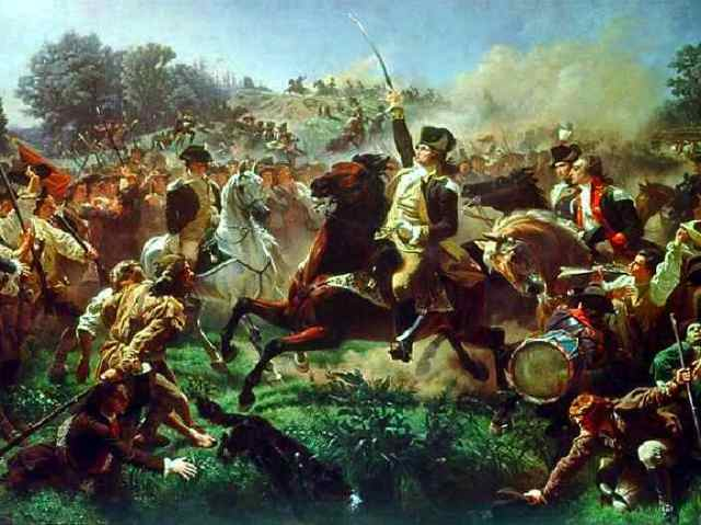 Washington Rallying the Troops at Monmouthby Emanuel Gottlieb Leutze