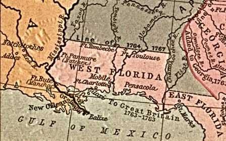 British West Florida in 1767