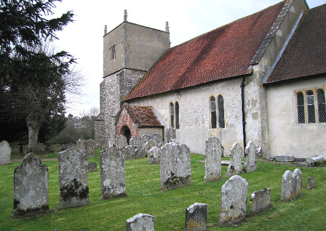 Stephen was baptized in Church of All Saints Upper Clatford