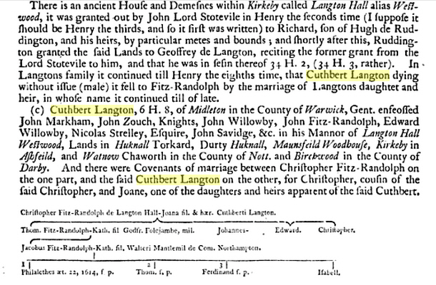 Cuthbert Langston Bio