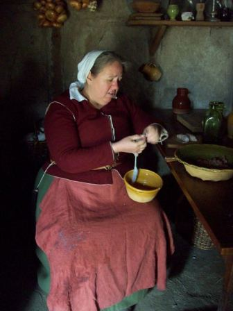 Elizabeth Fisher Hopkins Reenactor