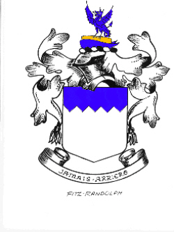 Immigrant Ancestor -Fitz Randolf Coat of Arms