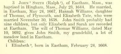 John Smith Bio