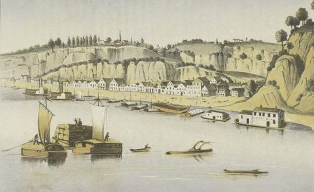 Natchez Mississippi in 1850