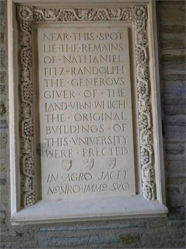 Nathaniel Fitz Randolph Memorial