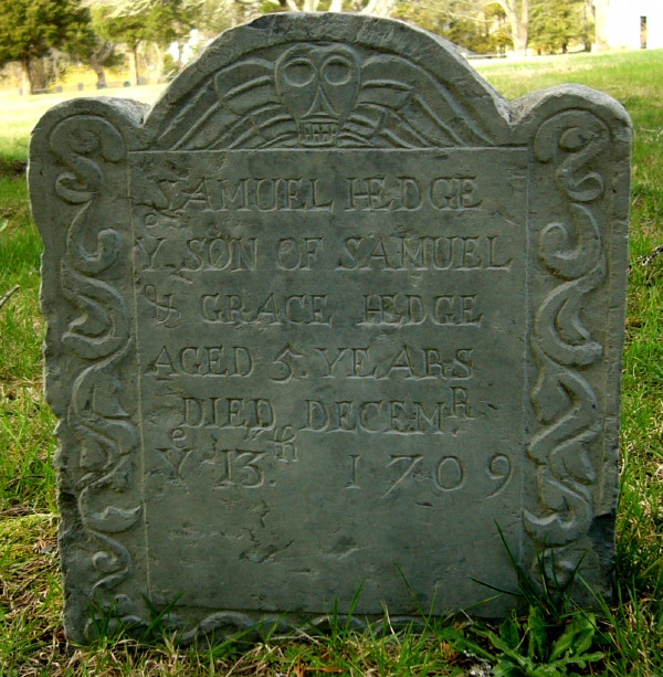 Samuel Hedge Jr Headstone