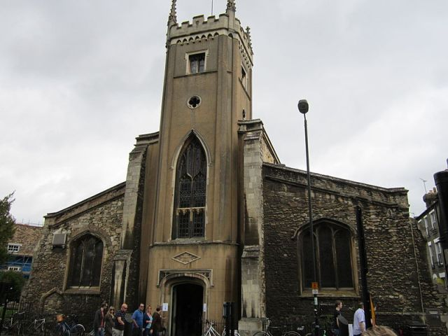 Thomas was married in St Clement's Church, Cambridge, England