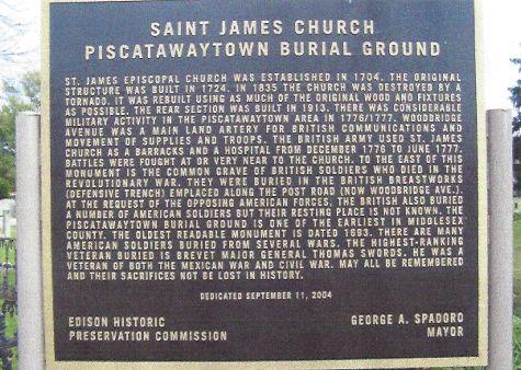 St James Church New Jersey