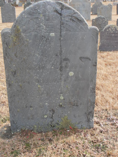 Timothy Hallett Gravestone -- Ancient Cemetery Yarmouth Port -- Find A Grave Memorial# 50148039