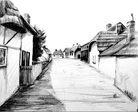 Upper Clatford as it might have looked when Stephen was growing up