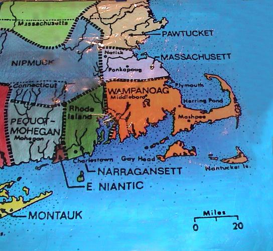 Wampanoag Map