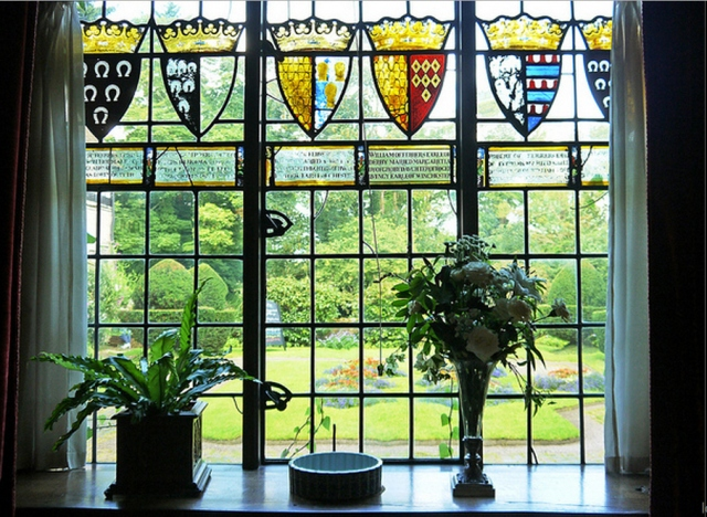 Baddesley Clinton Stained Glass