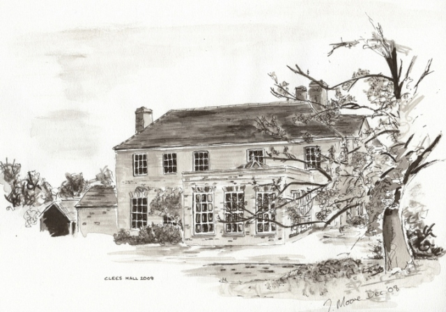 Clees Hall Drawing