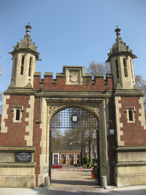 The Gatehouse of Lincoln's Inn is the only structure that survives basically unaltered today