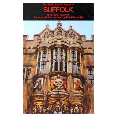 Hengrave Hall appears on the cover of Pevsner's Buildings of England - Suffolk
