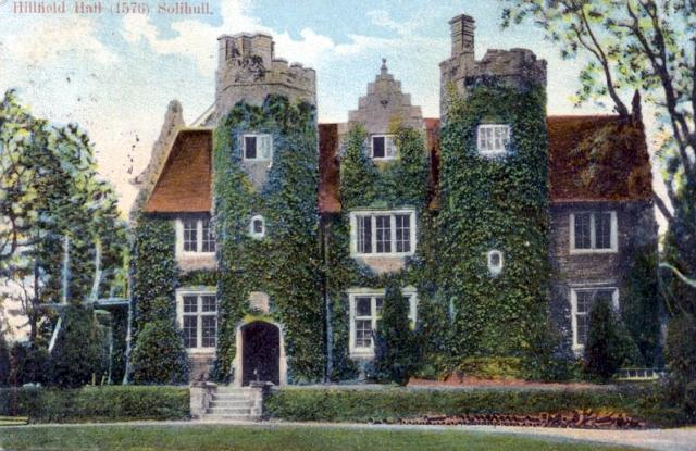 Hillfield Hall in 1904