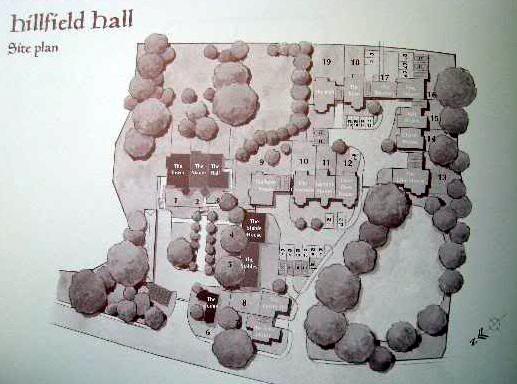 Hillfield Hall Site Plan