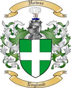 Howse Coat of Arms