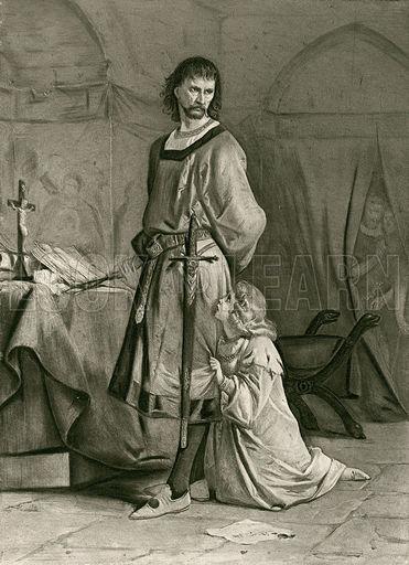Hubert and Arthur from King John. Act IV, Scene I