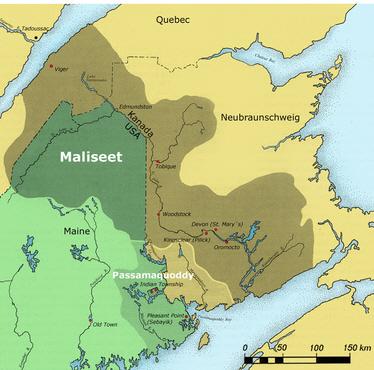 Maliseet Territory