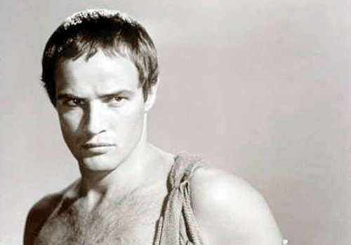 Marlon Brando as Marc Anthony 1955