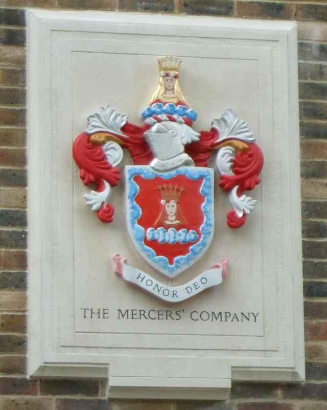 Mercers Company Badge