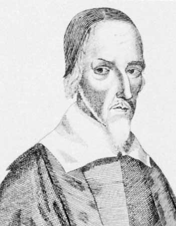 Praise-God Barebone (c.1598 –1679) administered Thomas' will.