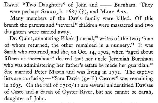 Sarah Davis 1