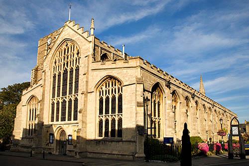 St Marys Church Bury St Edmunds Suffolk England