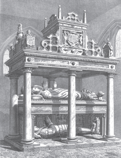Tomb of Countess of Bath Hengrave Hall