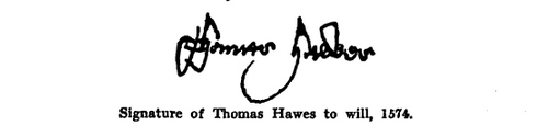 Will of Thomas Hawes 10