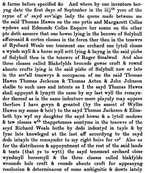 Will of Thomas Hawes 5