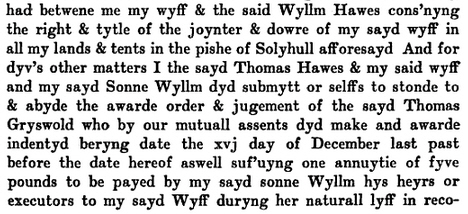 Will of Thomas Hawes 6