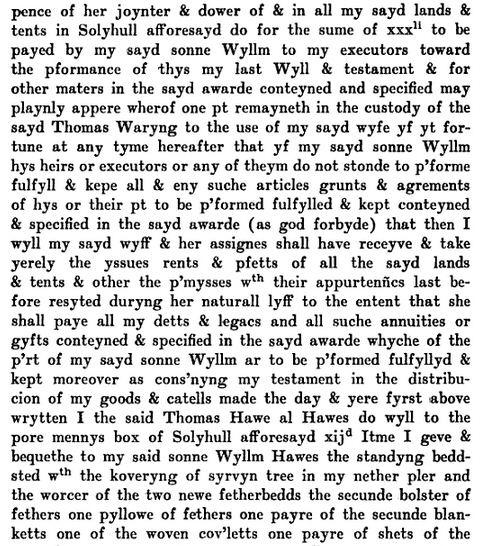 Will of Thomas Hawes 7