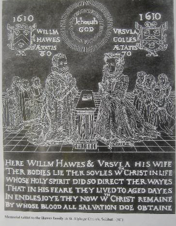 Copy of William Hawes Brass from a copy in the Solihull library that was easier to read, primarily because we could get closer to it!