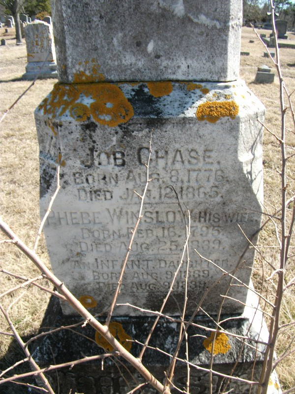Job Chase Monument Pine Grove Cemetery  West Harwich, Barnstable , Mass, Find A Grave Memorial# 67294723