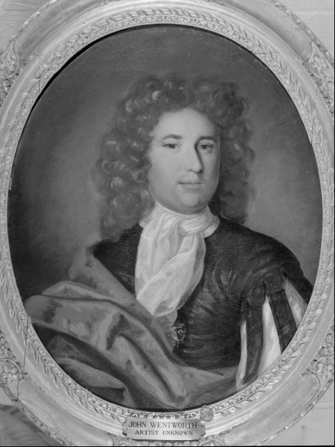 John Wentworth Portrait  Restored by Darius Chase 1845